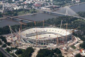budowa stadionu w Warszawie